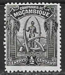 Mozambique Company ~ Scott # 110 ~  Unused ~ No Gum