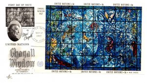 United Nations, New York, Worldwide First Day Cover, Art