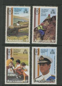 Ascension - Scott 297 - 300 - General Issue -1981 - MNH - Set of 4 Stamps