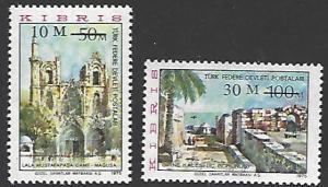 Northern Cyprus #28-29 MNH Set of 2