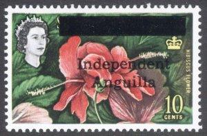Anguilla 1967 10c Independence SG 8 Scott 8 UMM/MNH Cat £70($91)