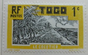 France Africa French Colony TOGO 1924-38 1c MH* A4P11F125