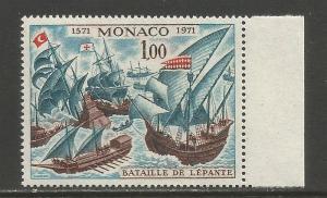 Monaco   #824  MNH  (1972)  c.v. $0.65