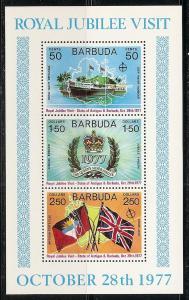 Barbuda 304a 1977 Royal Vist s.s. MNH