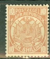 Transvaal 134 mint CV $40