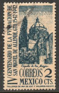 MEXICO 781, 2c San Miguel de Allende 400th Anniv Used. F-VF. (1007)