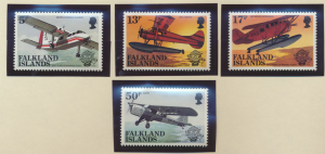 Falkland Islands Stamps Scott #383 To 386, Mint Never Hinged - Free U.S. Ship...