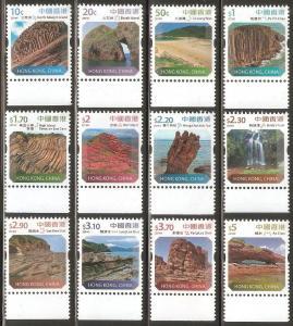Hong Kong 2014 Landscapes Defins Low Value Stamps Set MNH