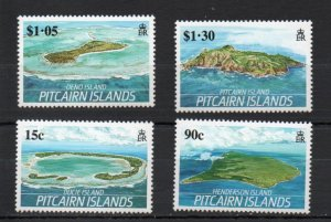 Pitcairn #327-330 MNH