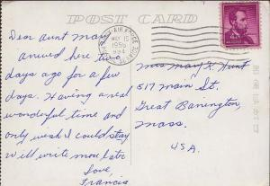 United States A.P.O.'s 4c Lincoln 1954 Liberty 1958 Army-Air Force Postal Ser...