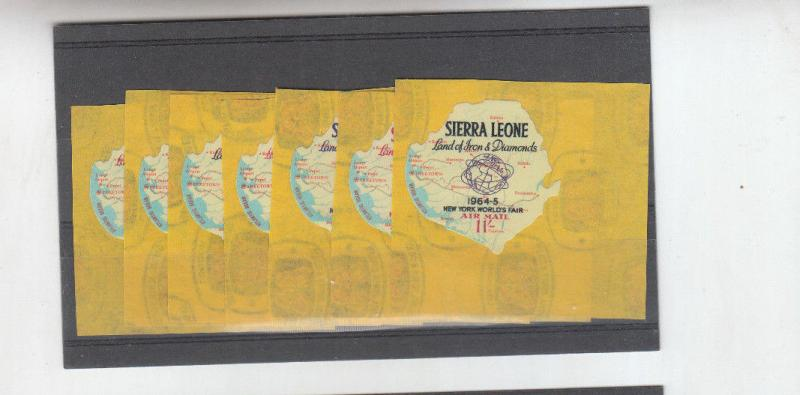 SIERRA LEONE 1964 AIRMAIL SET MINT
