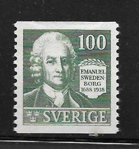 SWEDEN, 267, MINT HINGED, EMANUEL SWEDENBORG