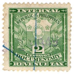 (I.B) Philippines Revenue : Documentary 2c