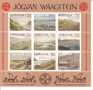 Faroe Islands SC 462 Mint, Never Hinged