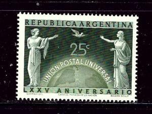 Argentina 586 MNH 1949 UPU 75th Anniversary