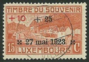 Luxembourg - Scott B5 F-VF Used
