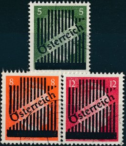 Lot Stamp Austria Germany Selection WWII 3rd Reich Hitler Vienna Hitler Used