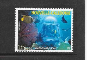 UNDERWATER OBSERVATORY - NEW CALEDONIA #881  MNH