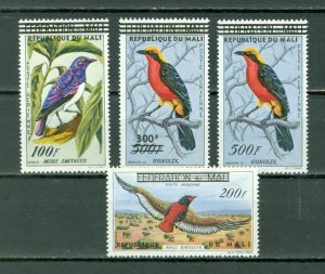 MALI 1960 BIRDS #C5-8... SET...MNH...$45.00