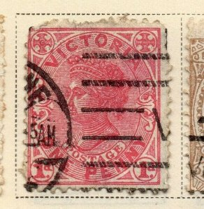 Victoria 1881-83 Early Issue Fine Used 1d. 326801