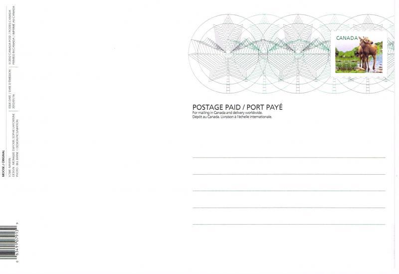 Canada Unitrade Postal Card UX279