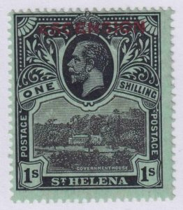 ASCENSION ISLAND 9  MINT HINGED OG * NO FAULTS VERY FINE!