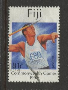 Fiji - Scott 827 - General Issue -1998 - FU - Single 81c Stamp