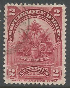 HAITI 55 VFU T341-4