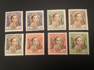 ICOLLECTZONE Iraq 102-109 VF hinged few with small HR