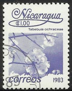 Nicaragua 1983 Scott# 1221 Used