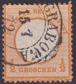 Germany #16  F-VF  Used  CV $9.00  (Z2852)