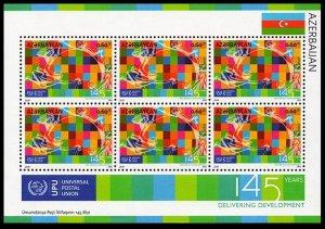 2019 Azerbaijan 1481KL 145 years of UPU