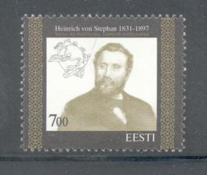 Estonia Sc 320 1997 UPU von Stephan stamp mint NH