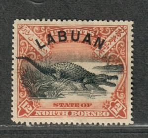 Labuan Sc#80 M/H/VF+, Cv. $40