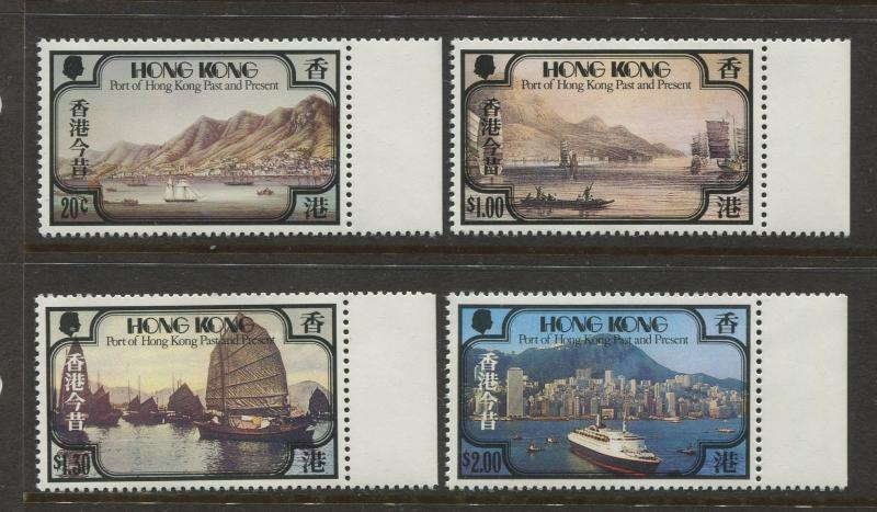 Hong Kong - Scott 380-383 - General Issue - 1982 - MNH - Set of 4 Stamps