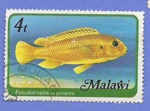 Malawi Scott #307 Fish Used