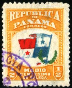 PANAMA #185, USED , 1906 - PAN184