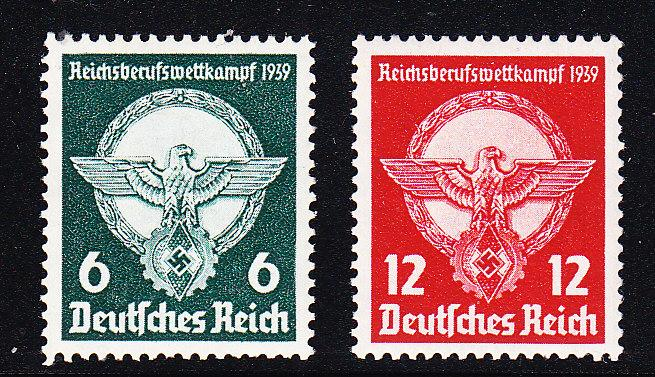 Germany 1939 Young Workers Professional Competition VF+/NH(**)