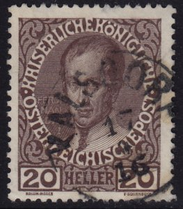 Austria - 1908 - Scott #117 - used - KALSDORF pmk
