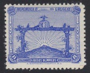 URUGUAY 1928 Football 8c fresh MNH - never hinged...........................H257