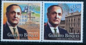 MEXICO 2941a, Gilberto Bosques, Ambassador to France. MINT, NH. F-VF.