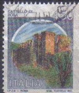 ITALY, 1980, used 450L, Castles