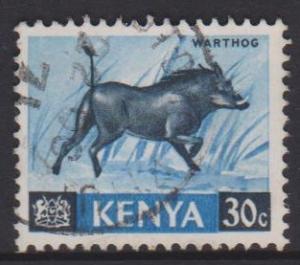 Kenya Sc#24 Used