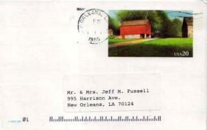 United States, Government Postal Card, Louisiana