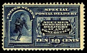 U.S. SPECIAL DELIVERY E5  Mint (ID # 55426)