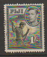 Fiji George VI  SG 262  Used