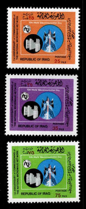 IRAQ Scott 844-846 MNH** ITU set
