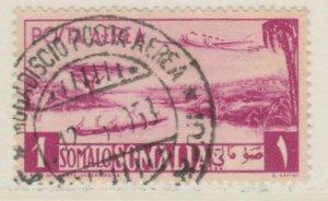 Somalia A.F.I.S. Aerea 1950-51 1s Usato Italia Colonie Italy Colony A18P14F207