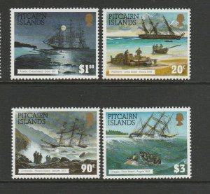 Pitcairn Islands 1994 Shipwrecks UM/MNH SG 450/3