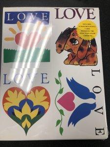 USPS UX 279 Love Postal Cards Set Of 12 Sealed